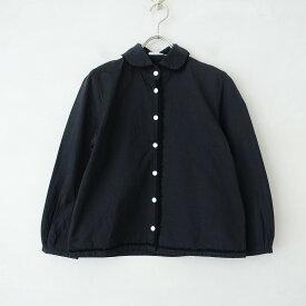 ミナペルホネン mina perhonen fog night 丸襟シャツ 36【中古】【02D12】【高価買取中】
