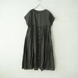 ネストローブ nest Robe リネン2WAYドレス F【中古】【22D12】【高価買取中】