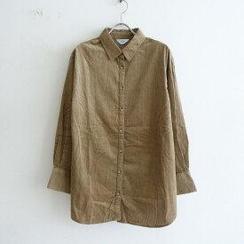 2020【美品】 スローブイエナ SLOBE IENA コーデュロイシャツ -【中古】【12D12】【高価買取中】