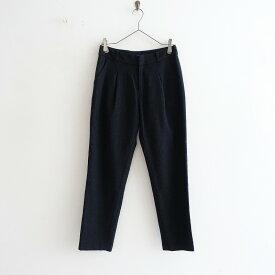 【美品】 エヴァムエヴァ evam eva wool tusk pants ウールタックパンツ 1【中古】【92G12】【高価買取中】