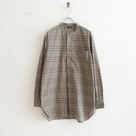 リノ LENO BAND COLLAR PULLOVER SHIRT バンドカラープルオーバーシャツ 0【中古】【92G12】【高価買取中】