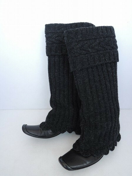 mina perhonen ミナペルホネン Alsace-knit ニットロングブーツ size25 【中古】【高価買取中】【店頭受取対応商品】