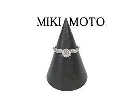:ミキモト プラチナ ダイヤモンド リング MIKIMOTO Pt 【中古】 美品