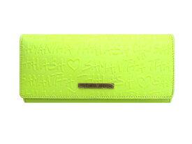 サマンサ タバサ 長財布 蛍光黄緑 Samantha Thavasa 【未使用】財布 ウォレット