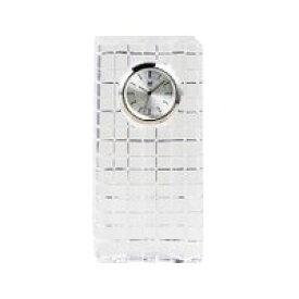ウェッジウッド WEDGWOOD ナイト&デイ クリスタル クロック 置き時計 未使用 在庫処分 訳有