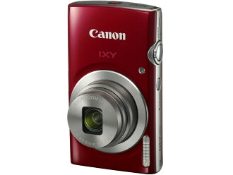 Canon IXY 180 beauty article red digital camera