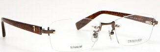TRUSSARDI/トラサルディ 眼鏡/メガネフレーム F-TITANIUM/VTR171J