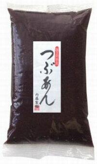 味と品質にこだわった粒あんです。暑い季節には冷たい冷やしぜんざいがおすすめです☆