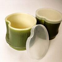 蓋付き水ようかん用カップ竹型