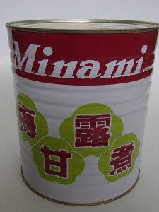 梅甘露煮 1号缶 【和菓子材料】