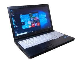 90日保障 貴重!英語版 WINDOWS10 PRO クリーンインストール FUJITSU A552 高速CPU B730 1.8G  DVD 無線 互換英語キーボード 互換OFFICE【中古】