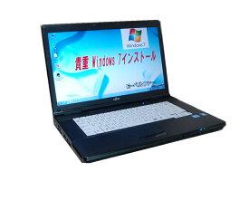 貴重 90日保障 バリバリ活躍 すぐに使用可能 日本語WINDOWS 7 PRO 64BIT FUJITSU A561 高速Core I5 2.50G メモリー6.0G 15インチワイドHD液晶 DVD鑑賞 無線 フルセットノート【中古】