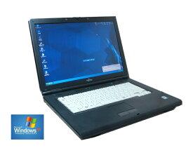 いまさらですが WINDOWS XP搭載 90日保障 XPなら快適動作 FUJITSU A540/A6290/8290 セルロン 2.20G WINDOWS XP ソフトに最適 メモリー2.0G 160G DVD鑑賞 (英語版XP変更可)【中古】