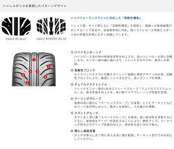 GOODYEAREAGLERSSPORTS-SPEC225/45R17(グッドイヤーイーグルアールエススポーツエススペック)国産新品タイヤ4本価格