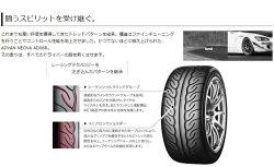 YOKOHAMAADVANNEOVAAD08R265/35R18(ヨコハマアドバンネオバAD08R)国産新品タイヤ4本価格