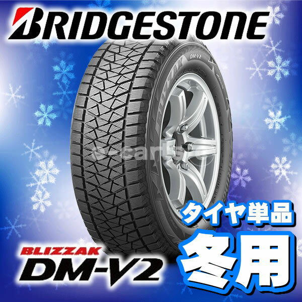 BRIDGESTONE BLIZZAK DM-V2 225/60R18 (ブリジストン ブリザック ディーエム ヴィ2) 国産 新品タイヤ 1本価格