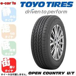 TOYOOPENCOUNTRYUT285/60R18(トーヨーオープンカントリーユーティー)国産新品タイヤ4本価格