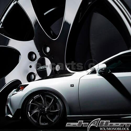 送料無料 AME シャレンWX モノブロック 235/35R19 輸入タイヤ 4本SET ランサーエボリューション