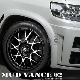 送料無料 weds マッドヴァンス 02 275/65R18 輸入タイヤ 4本SET SUV オフロード FJクルーザー