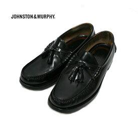 【JOHNSTON & MURPHY】ジョンストン&マーフィー タッセ ロファー 8 1/2 ブラック 【中古】