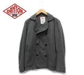 【DANTON】ダントン Pジャケット Pコート グレー サイズ40 【中古】