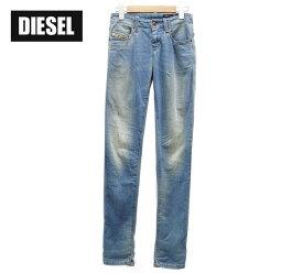 【DIESEL】ディーゼル デニム+スウェット パンツ ジョグジーンズ GRUPEE サイズ23【中古】