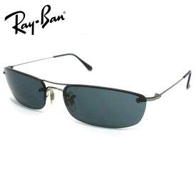 【Ray Ban】レイバン サングラス ファッションコンシャス TOP RECTANGULAR RB3174 004/71 60□16 ブラック系 イタリア製 アイウェア 小物 服飾品 RM2249【中古】