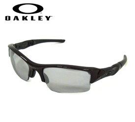 【OAKLEY】オークリー FLAK JACKET フラックジャケット サングラス ワインレッド USA 保存袋 スポーツ アイウェア 小物 服飾品 RM2680【中古】