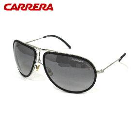 【CARRERA】カレラ 15 サングラス 63□14 シルバー×ブラックレンズ ブラッドピット愛用モデル アイウェア 小物 服飾品 RM2681 【中古】