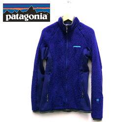 【patagonia】パタゴニア フリースジャケット R3 サイズXS レディース トップス 女性用 青 ブルー 長袖 アウトドア カジュアル 起毛 RC1931【中古】