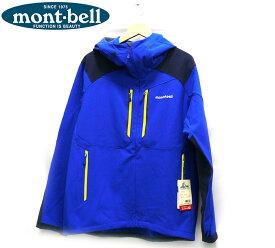 【mont-bell】モンベル ロッシュパーカー ロイヤルブルー サイズL メンズ アウター 青 男性用 長袖 #1106612 タグ付き未使用 RC2044【中古】