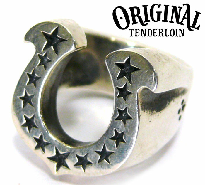 【TENDERLOIN】 テンダーロイン ホースシュー リング 8号 シルバー 925 指輪 H.S RING RC0738 【中古】