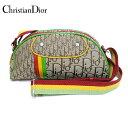 【Christian Dior】クリスチャンディオール トロッター ラスタライン ショルダーバッグ セミショルダー 斜め掛けショ…