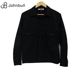 【Johnbull WHITE LABEL】ジョンブル ホワイトレーベル トロウール ジャケット J2076 Sサイズ 18SS Gジャン ブラック 美品【中古】FF0919