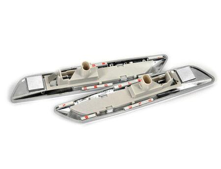 【あす楽対応】BMWE60/90系LEDサイドマーカークリアーF10ルック/車用品/バイク用品/カー用品/外装パーツ/