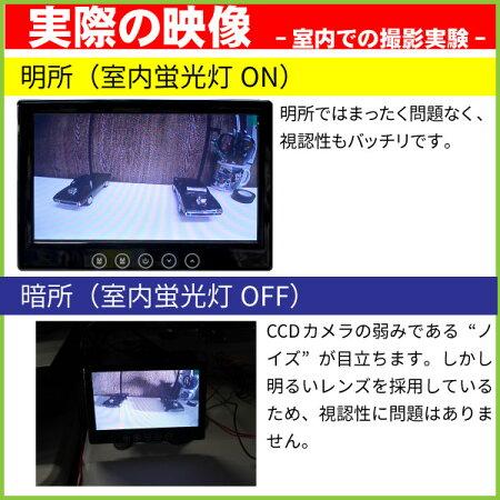 バックカメラナンバーネジ取付式白−普通車用−CCDセンサー・170°レンズ正像・鏡像切替防水規格IP67取得目立たず取り付けられるバックカメラ!