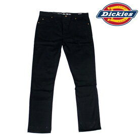 Dickies WP814 BK(ブラック)ディッキーズ814スリムストレート 5ポケットツイルスキニーパンツ