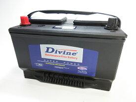 DIVINE【65-750 】MFカルシウムバッテリー ◆アメ車◆BXT65-850 BXT65-650 65-84 UPM-65 BA65-650 65-7YR BXT65他互換
