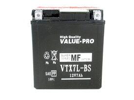 【新品】高性能バッテリー VTX7L-BS ◆[ホンダ:〜250] ジェイドJADE[MC23] ディグリー[MD26] YTX7L-BS FTX7L-BS GTX7L-BS 他互換