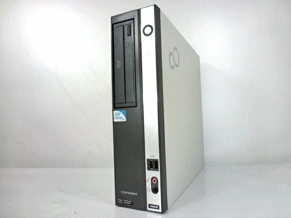 中古パソコン 【Windows7】 [F87D] [お手軽デスクトップ] 富士通限定 [Celeron 1.8GHz 2GB 160GB DVD-ROM ] Windows7 Pro 【中古デスクトップ】【デスクトップ】【PC】【アウトレット】【中古】【RCP】
