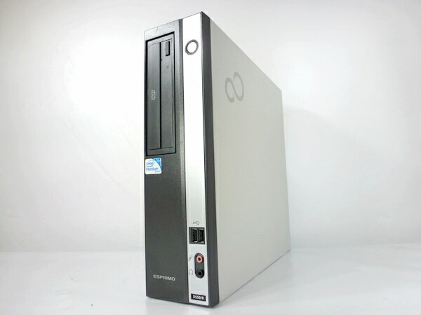 中古パソコン Windows7 富士通製お手軽デスクトップパソコン [Pentium DualCore 2.6GHz 2GB 160GB DVD-ROM ] [F88D]【中古デスクトップ】【中古】【デスクトップ】【PC】【アウトレット】【RCP】