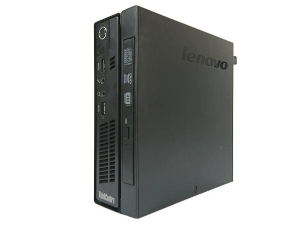 中古パソコン [X51DX] Lenovo ThinkCentre M92 (Core i3 2120 2.6GHz 4GB 320GB DVDマルチ Windows 10 Professional 64bit)【中古デスクトップ】【中古】