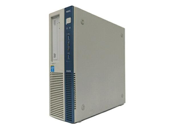 中古パソコン 【Windows10】[N52D] NEC Mate MB-G (Core i5 4570 3.2GHz 4GB 250GB DVD-ROM Windows10 Professional 64bit)【中古デスクトップ】【中古】【アウトレット】