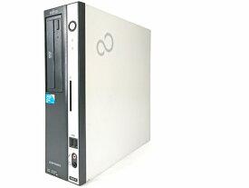 中古パソコン デスクトップパソコン【Windows10】[F128D][SSD搭載] 富士通 ESPRIMO D550/B (Core2 Duo 2.9GHz 4GB 128GB DVD-ROM Windows10 Home 64bit)【中古】【アウトレット】
