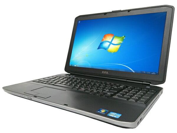 【中古パソコン】【Windows7】[D25A][無線LAN対応] DELL Latitude E5530 (Core i3 3110M 2.4GHz 4GB 320GB DVD-ROM Windows7 Professional 64bit)【中古ノートパソコン】【中古PC】【アウトレット】