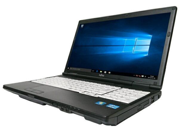 中古パソコン【Windows10】[F128AXw][外観わけあり] 富士通 LIFEBOOK A572/F (Core i5 3320M 2.6GHz 4GB 320GB DVDマルチ Windows10 Pro 64bit)【中古PC】【ノートパソコン】