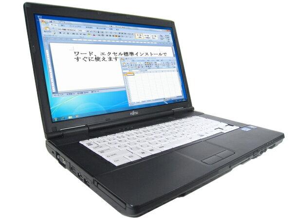 中古パソコン【Windows7】マイクロソフトオフィス2010搭載 無線LAN対応 [F101AS] 富士通 LIFEBOOK A572/E (Core i5 3320M 2.6GHz 4GB 250GB DVDマルチ Windows7 Professional)【中古ノートパソコン】【中古】