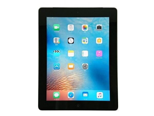 【中古iPad】[背面キズあり]au iPad Retinaディスプレイ(第4世代) 本体 Wi-Fi+Cellularモデル MD522J/A 16GB [TB11w]