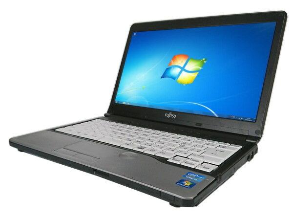 中古パソコン【Windows7】[F37B][無線LAN対応] 富士通 LIFEBOOK S762/E / S762/G (Corei5 3320M 2.6GHz 4GB 320GB 13.3inch DVD-ROM Windows7 Pro 64bit)【中古PC】【アウトレット】
