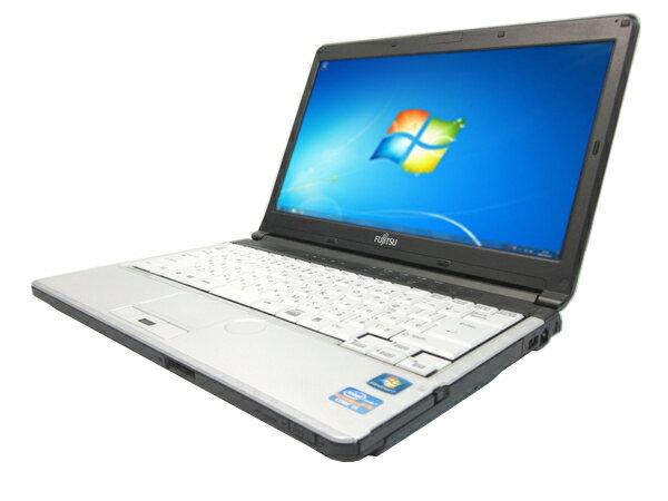 中古パソコン【Windows7】[F39Bw][わけあり品] 富士通 LIFEBOOK S761/D (Core i5 2520M 2.5GHz 4GB 250GB DVDマルチ Windows7 Pro)【中古PC】【アウトレット】